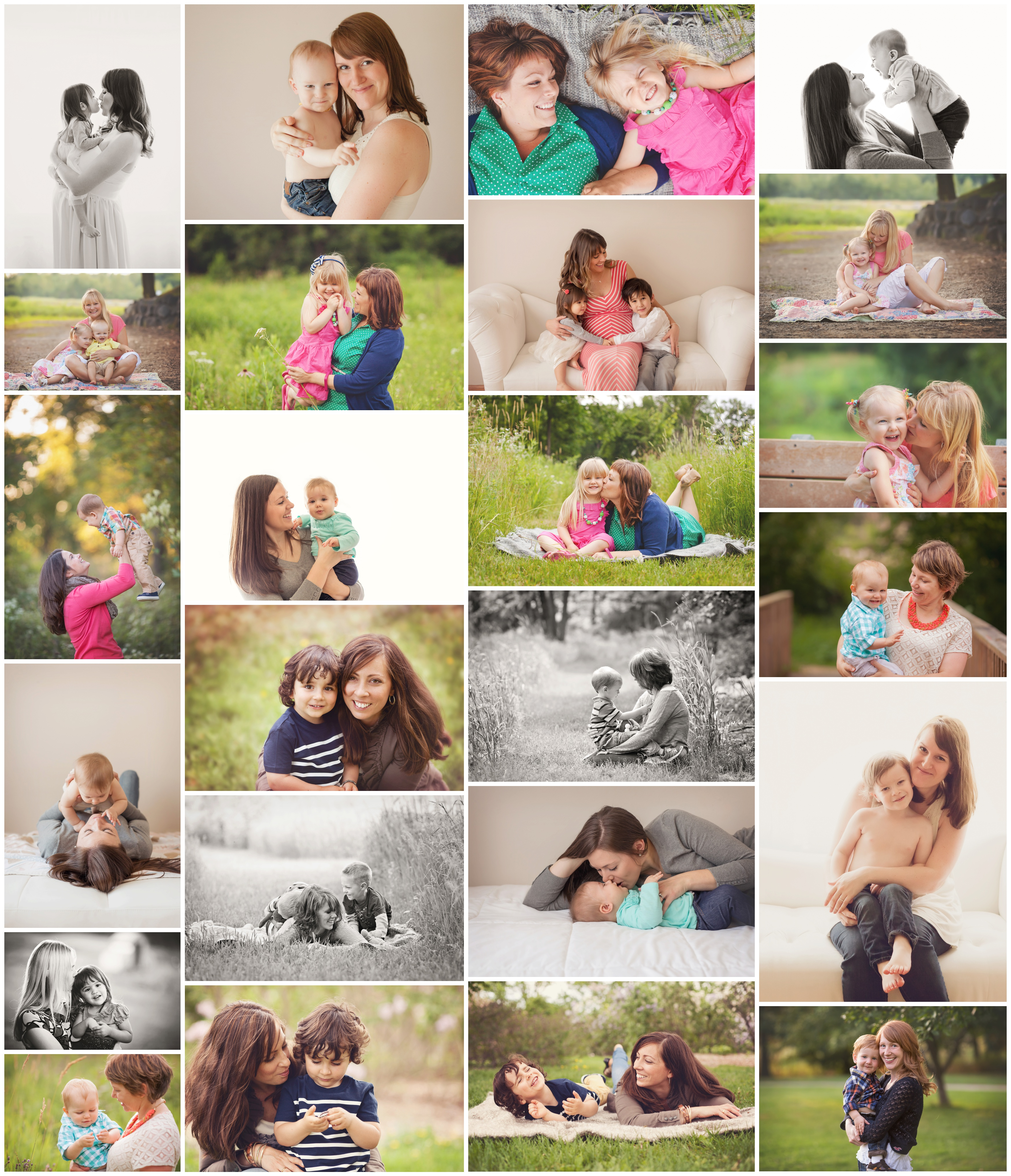 Madison WI baby photographer - mama and me mini sessions - Anna George Photography - www.annageorgephoto.com